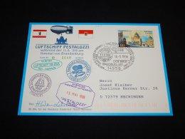 Germany BRD 1996 Trebbin Balloonpost Card__(L-4935) - BRD