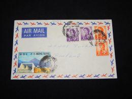 Hong Kong 1973 Air Mail Cover To Finland__(L-3444) - Hong Kong (...-1997)