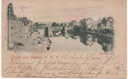 GRUSS AUS KASSEL - HESSE - FULDA - Early Card - Postally Used 1898 - Fulda
