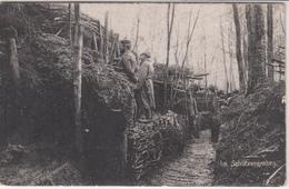 CPA Allemande-Im Schützengraben-Militaires Soldats Allemand Tranchée Surveillance 1915(guerre14-18)2scans TBE - Oorlog 1914-18