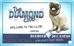 Diamond Jo Casino - Dubuque, IA - Slot Card - Casino Cards