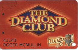 Diamond Jo Casino - Northwood, IA - Slot Card - Casino Cards