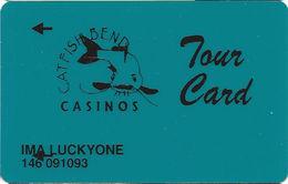 Catfish Bend Casino - Burlington, IA - Slot Card - TOUR CARD - Casino Cards