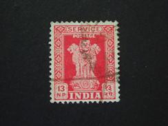 1963 Sg 0181  13np Scarlet  WMK 374 ( 4 ) - Official Stamps