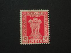 1963 Sg 0181  13np Scarlet  WMK 374 ( 5 ) - Official Stamps