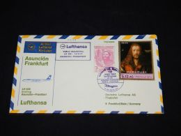 Paraguay Lufthansa First Flight Asuncion-Frankfurt -71__(L-3379) - Paraguay
