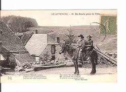EN AUVERGNE - EN ROUTE POUR LA VILLE - Auvergne