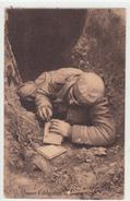 CPA Allemande-Soldats Allemand écriture-Unsere Feldgraueh 1915(guerre14-18)2scans TBE - Oorlog 1914-18