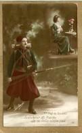 MILITARIA.    Le Clairon, 1914-1915. Zouave       LES 2 CARTES - Patriotiques