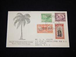 Western Samoa 1946 Cover To UK__(L-3841) - Samoa