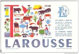 Buvard Larousse  Années  60 (  Lettre - T  -) Neuf Tres Bon Etat - Other Collections