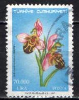 TURCHIA - 1997 - Ophrys Apifera - USATO - Used Stamps