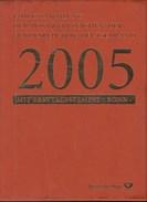 BRD MiNr 2434-2504, Gestempelt, In Jahressammlung Der Dt. Post 13/2005 - Gebruikt