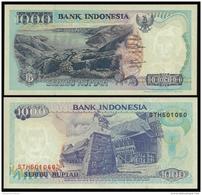 Indonesia 1000 RUPIAH 2000 P 129i UNC (Indonésie, Indonesien, Indonesië) - Indonesia
