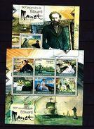 Mozambique 2012 Art Manet MNH -(WB1) - Art