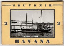 Souvenir Havana - & Booklet 10 Views Complete - Cuba