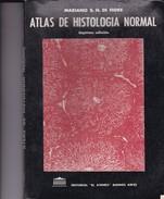 ATLAS DE HISTOLOGIA NORMAL. MARIANO S.H.FIORE. 1991, 229 PAG. ED EL ATENEO - BLEUP - Gezondheid En Schoonheid