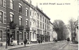 BRUXELLES (1180) : Tram électrique Chée De Waterloo, Au Niveau Du Bois De La Cambre Et De Vleurgat. Belle Animation. CPA - Vervoer (openbaar)