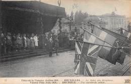 BRUXELLES - Fêtes De La Victoire (Juillet 1919) - Le Salut Des Drapeaux - Feesten En Evenementen
