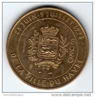 1 Euro De La Ville Du Havre : 25 Juin - 2 Juillet 1996 : Pont De Normandie : Monnaie De Paris - Euros Of The Cities