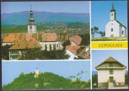 Croatia Lepoglava / Panorama Of  The Parish Church, Saint George, Saint John, Parish Center - Croacia