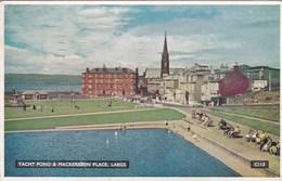 LARGS -YACHT POND @ MACKERSTON PLACE - Ayrshire