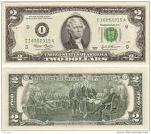 ***** USA - ETATS-UNIS - UNITED-STATES - 2 DOLLARS 2003 JEFFERSON - NEUF - UNC ***** EN ACHAT IMMEDIAT - Federal Reserve Notes (1928-...)