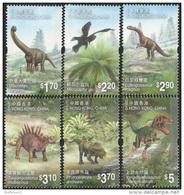 Hong Kong 2014 Chinese Dinosaurs Animals Stamp - 1997-... Chinese Admnistrative Region