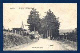 Tellin. Route De Bouillon. Eglise Saint-Lambert. Juin 1914 - Tellin