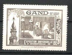 Reklamemarke Gand, Exposition Universelle 1913, Au Beguinage - Vignetten (Erinnophilie)