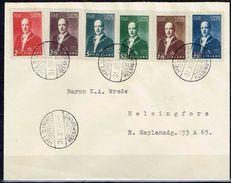 FINLANDE / FDC Effigie Du Président Ryti Du 31/12/1941 - FDC
