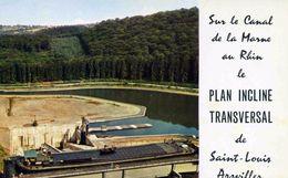 "TRANSPORT    /  BATEAU  L 16   /  PENICHE  ST LOUIS ARZVILLER ""   "" CPM / CPSM 10 X 15 - Embarcaciones"