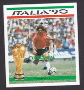 Tanzania, Scott #604, Mint Never Hinged, Soccer, Issued 1990 - Tanzania (1964-...)
