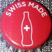 Coca-Cola SWISS MADE Kronkorken Switzerland 2017 Red Coke Soda Bottle Crown Cap TOP Tappi Chapa Rouge Capsule Nuevo - Soda