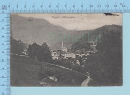Fiesch Oberwallis, Fiesch 1906 Send To Milano - VS Valais