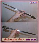 BELLE BAIONNETTE   AN 9    FRANCE   BON ETAT - Armes Blanches