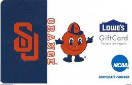 Lowes NCAA Gift Card - Syracuse Orange - Gift Cards