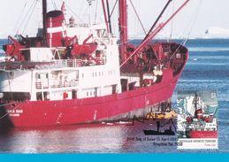 Australian Antarctic Territory 2003 Antarctic Ships, Thala Dan, Maximum Card - Maximum Cards