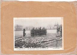 GUERRE 1914/15  - LES TRANCHEES - Transport Des Claies Pour Abri - NANT - - Guerre 1914-18