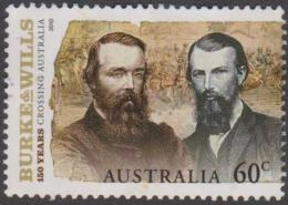 AUSTRALIA - USED 2010 60c Burke And Wills - Explorers - Usati