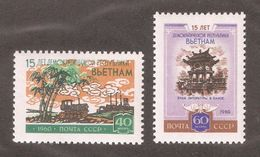 Russia/USSR 1960,North Vietnam,Sc 2371-2372,VF MNH** (ED-1) - 1923-1991 USSR