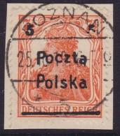 POLAND 1919 Poznan Fi 67 B1 Used - ....-1919 Übergangsregierung