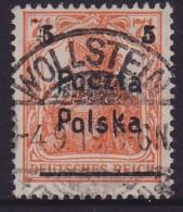 POLAND 1919 Poznan Fi 67 B2 Used - Used Stamps