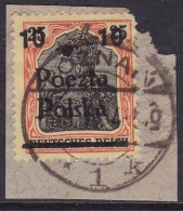 POLAND 1919 Poznan Fi 69 B5 Used - ....-1919 Provisional Government