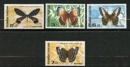 Thaïlande, Yvert 1076/1079, Scott 1075/1078, MNH - Thailand