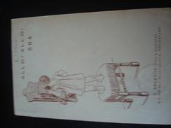 ALLO ALLO ! 894 - Publicité Pour Les Vins Et Liqueurs L. DELEVOY BRUXELLES En 1905 Par A. LYNEN - Lynen, Amédée-Ernest