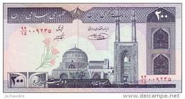 IRAN   200 Rials   Emission De 1982  Pick 136 E         ***** BILLET  NEUF ***** - Iran