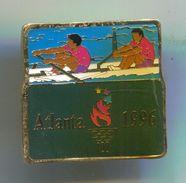 Rowing, Rudern, Canu, Kayak - ATLANTA 1996, Olympic Olimpiade, Vintage Pin, Badge, Abzeichen - Rowing