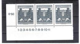 MAG692 ÖSTERREICH 1958/60  MICHL 1044 SYMBOLZAHL 1 - 11  ** Postfrisch  ZÄHNUNG Siehe ABBILDUNG - 1945-.... 2. Republik