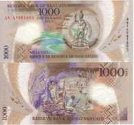 VANUATU  New  1'000 Vatu  Polimer  P13    2014    UNC - Vanuatu